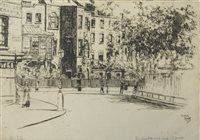 Lot 80-Theodore Roussel, etchings