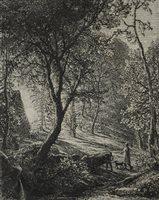Lot 97-Samuel Palmer, etching