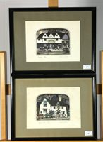 Lot 53-Graham Clarke, two prints