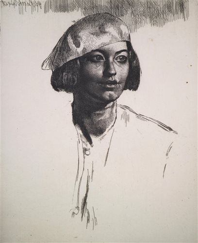 Lot 85-Gerald Leslie Brockhurst, etching