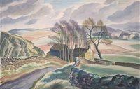 Lot 8-Clifford Webb, watercolour