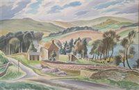 Lot 5-Clifford Webb, watercolour