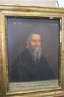 Lot 120-Portrait of Joachim Camerarius