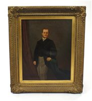 Lot 66-A portrait of a gentleman, Mr George Dell (1829-1870)