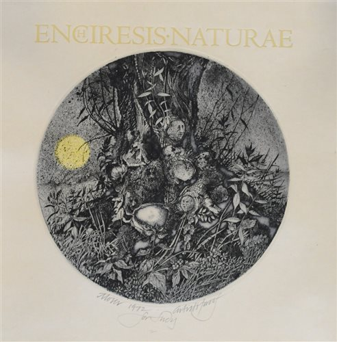 Lot 56-Barry Moser, Enchiresia Naturae