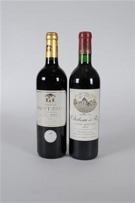 Lot 44-Bordeaux Box Red: Chateau Panchille Cuvee Alix...
