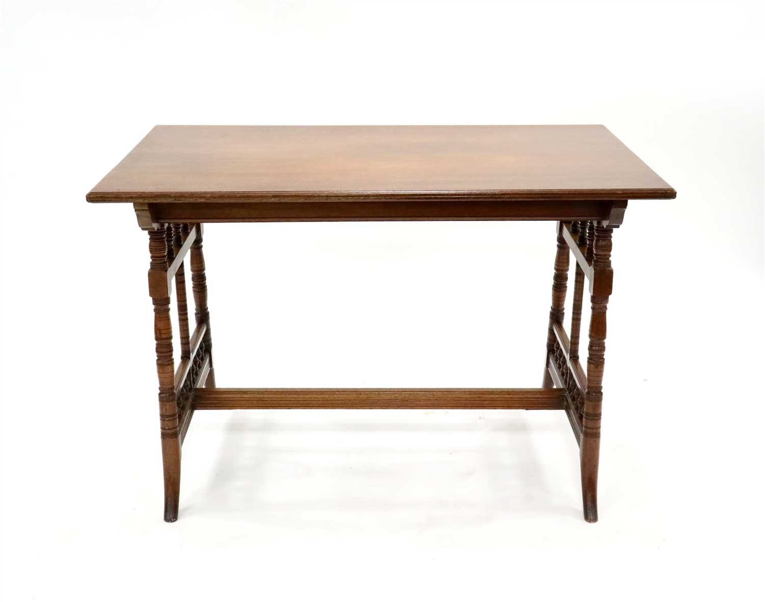Lot 222-Collinson & Lock, a mahogany side table