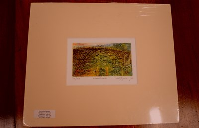 Lot 16-A collection of unframed works