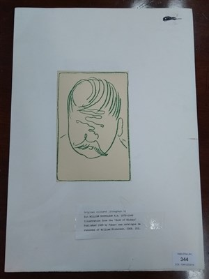 Lot 344-After Sir William Nicholson, illustration from the book of blokes
