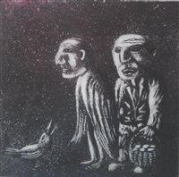 267 - Julian Ruddock, a pair of signed etchings