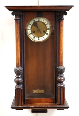 Lot 696-A Victorian mahogany cased regulator wall clock