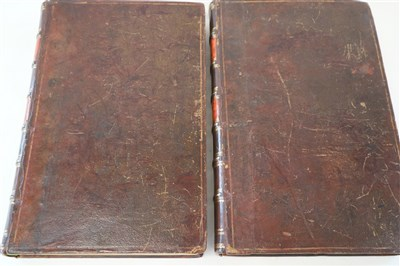 Lot 152 - CAMDEN, William, Britannia, 2 vols folio, 2nd...