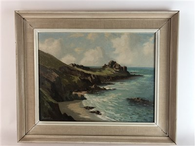 Lot 44-Edwards, Oil on canvas, Gurnards Head