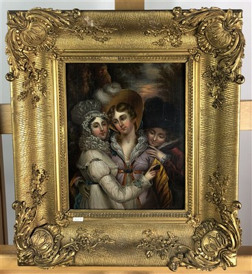 Lot 77-Attributed to Arthur Perigal, Three Sisters and another (2)