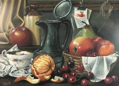 Lot 101-C Hope (20th century), still life