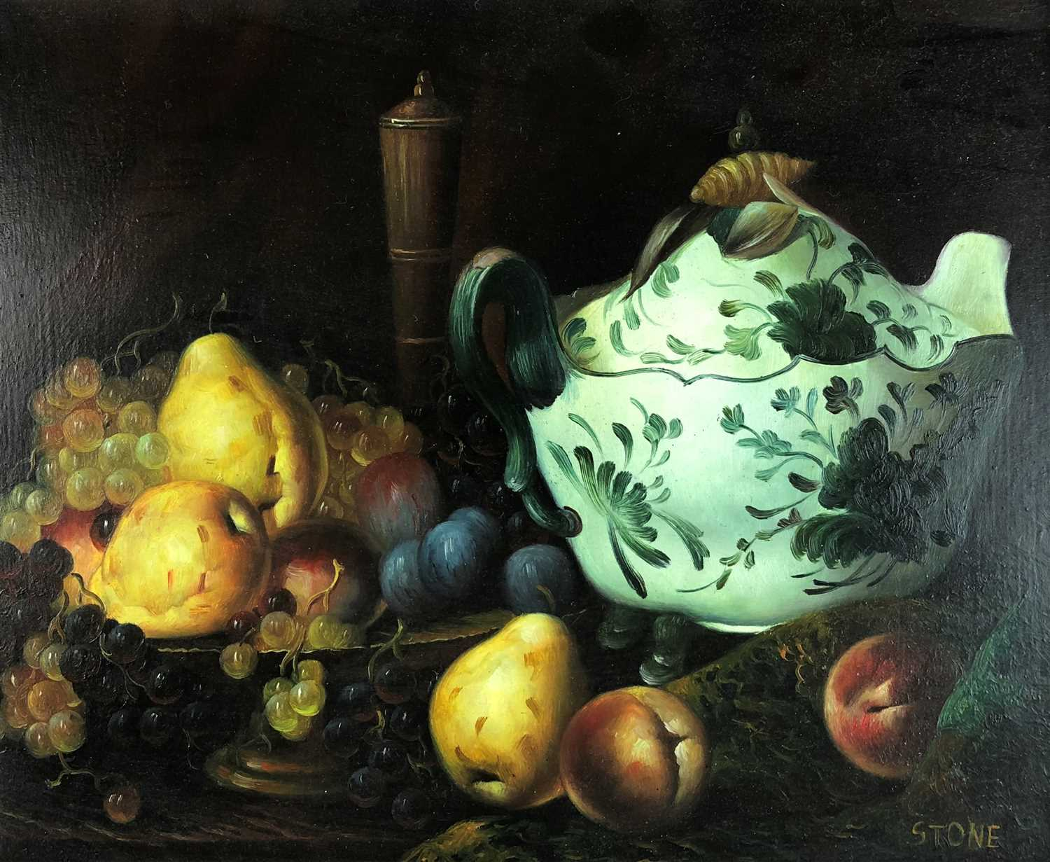 Lot 99-Stone (20th century), still life