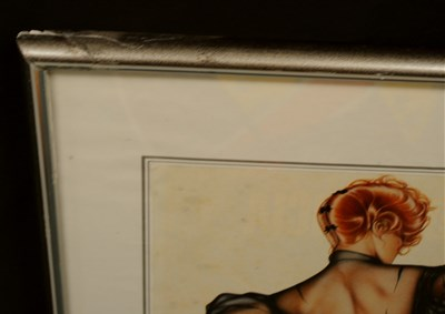 Lot 10-Three French erotic art prints