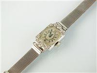 Lot 148-A diamond cocktail watch