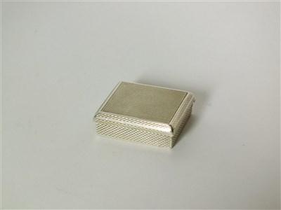 Lot 114-An Asprey & Co silver shaving case