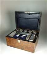 Lot 75-A travelling vanity/derssing set
