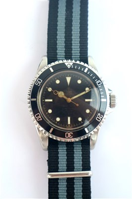 Lot 250 - A Gentleman's Tudor Submariner 7928 Gilt Dial Wristwatch.