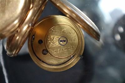 Lot 329-John Forrest London 18ct Gold Pocket Watch