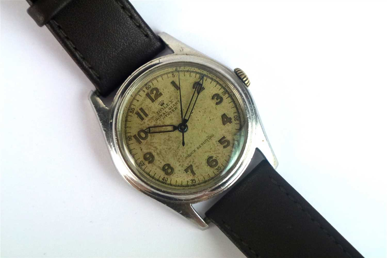Lot 239-A Gentleman's Rolex Oyster Royal Giant Double Reference Wristwatch