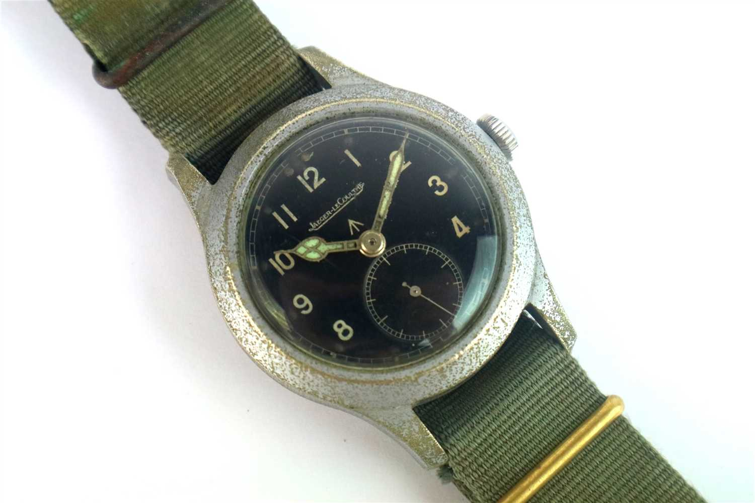 203 - A Gentleman's Jaeger-LeCoultre Military Wristwatch