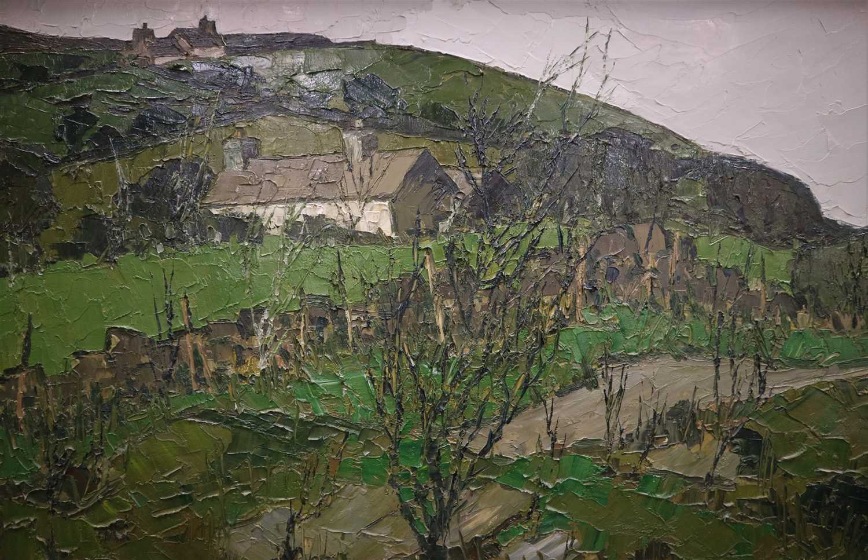 Lot 14-Tom Gerrard (1923-1976), 'Tyn Drwfwl'
