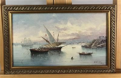 Lot 102-Three Sanchez paintings