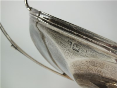 Lot 41-A two handled silver tazza