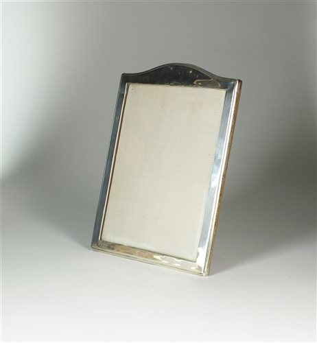 Lot 27-A silver mounted photograph frame