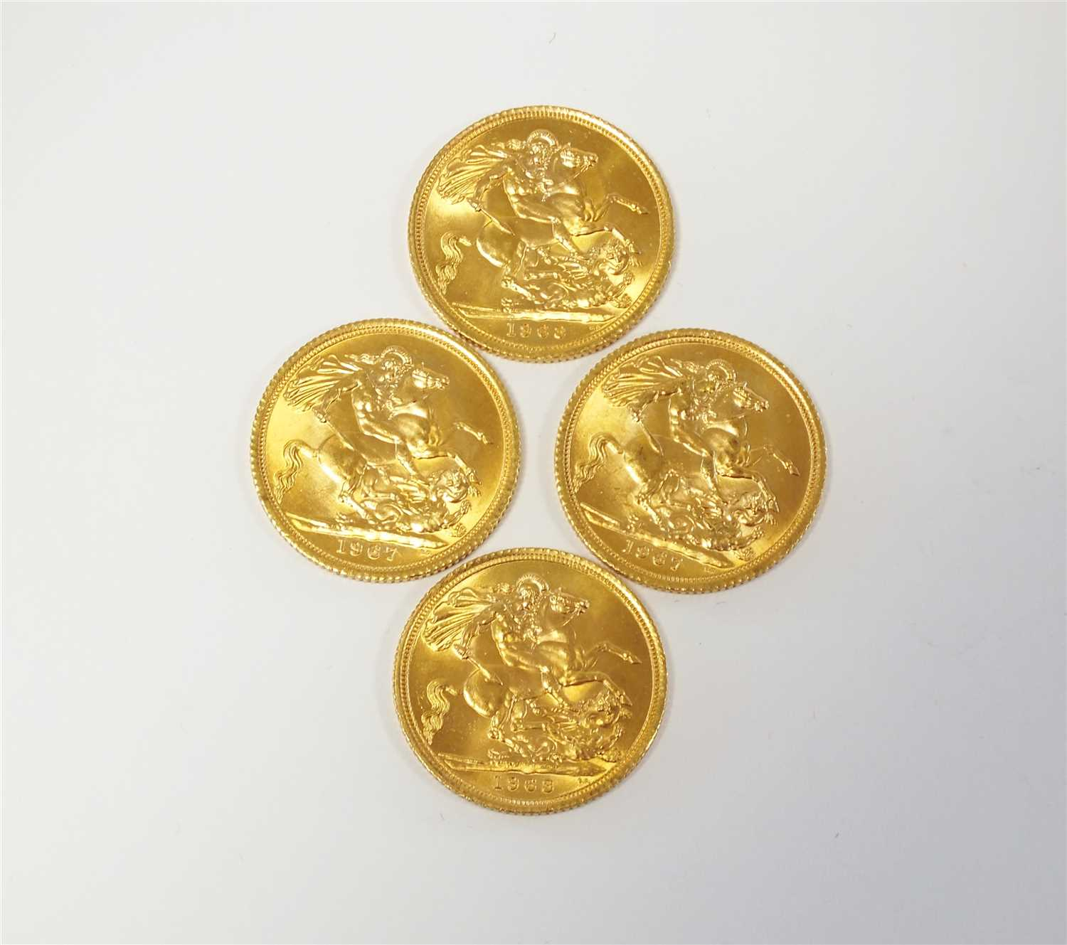 287 - Four sovereigns