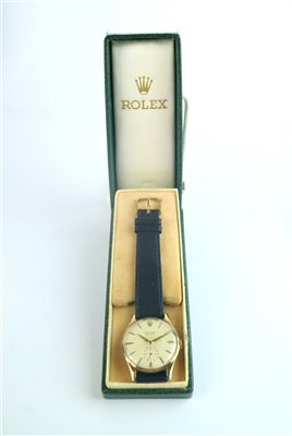 Lot 241 - A Gentleman's 9ct Gold Rolex Precision Wristwatch