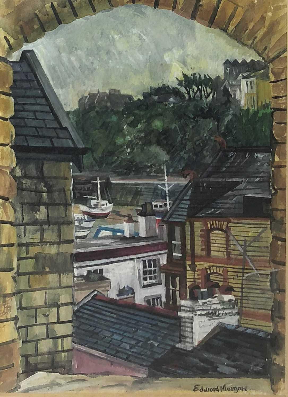 Lot 30-Edward Morgan (B.1933), Ilfracombe harbour