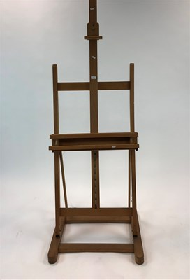 Lot 45-Wooden adjustable picture easel