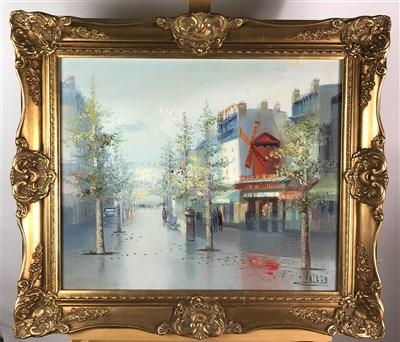 Lot 107-Valero painting