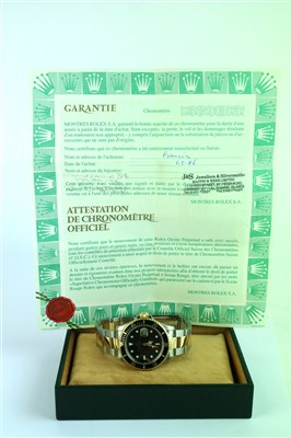 Lot 242-A Gentleman's Rolex Submariner Wristwatch Ref. 16613
