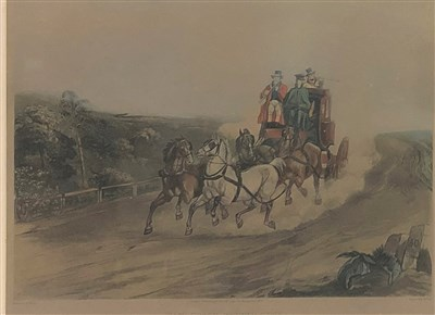 Lot 2-A collection of prints to include a shooting scene