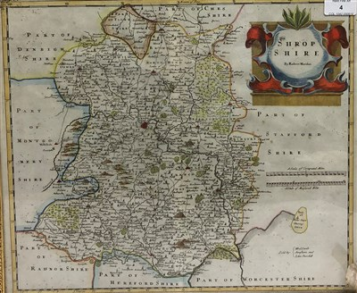 Lot 4-Robert Morden, map of Shropshire
