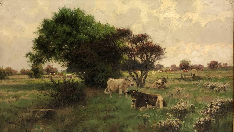 Lot 7-Sidney Pike, cattle beside a stream