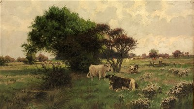 Lot 7-Sidney Pike, cattle beside a stream