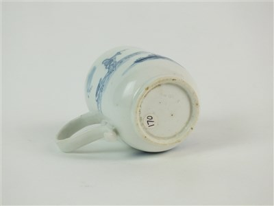 Lot 43-A rare Longton Hall coffee cup