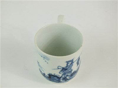 Lot 43 - A rare Longton Hall coffee cup