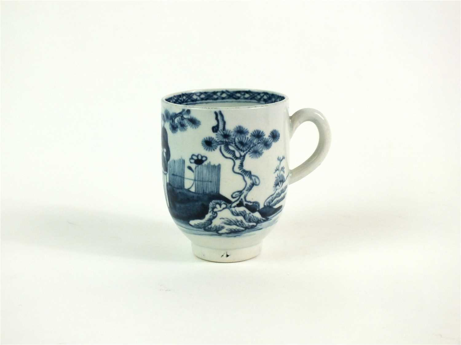 Lot 44-A John Pennington, Liverpool porcelain coffee cup
