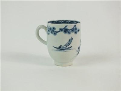 Lot 44 - A John Pennington, Liverpool porcelain coffee cup