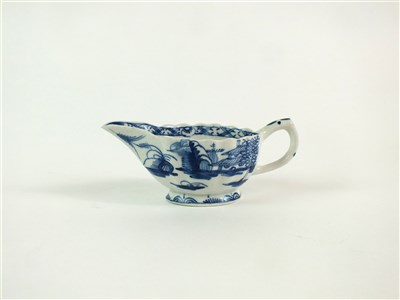 Lot 47 - A Bow butterboat in the Desirable Residence pattern