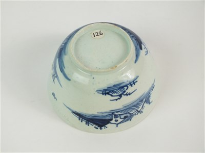 Lot 48-A Vauxhall tea bowl and saucer
