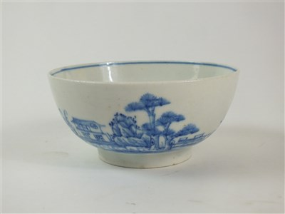 Lot 90 - A Bow porcelain slop or waste bowl