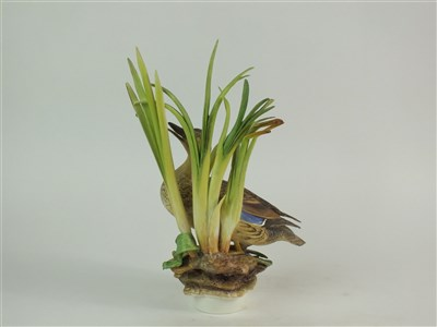 Lot 73 - A Royal Worcester model of a Mallard Duck